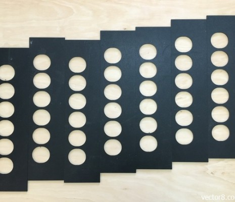 Фрезеровка листового ABS-пластика